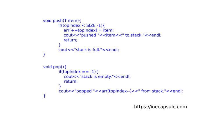stack-using-cpp