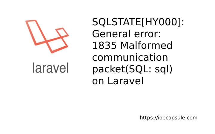 laravel-mariadb-update-issue