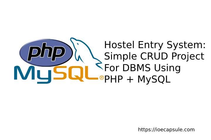 dbms-crud-using-php-mysql